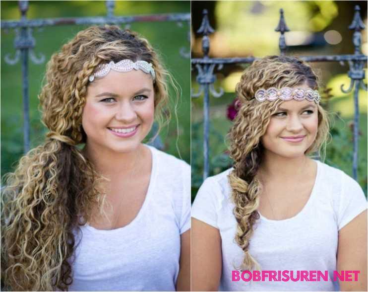 lockige haare naturlich glatten