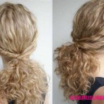 lockige haare naturliche flechtfrisuren