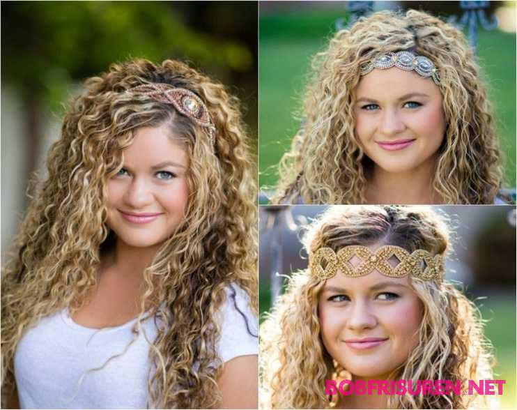 naturlockige haare