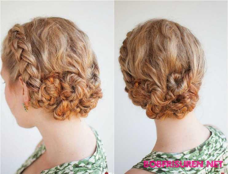 schnecke frisur lockige haare