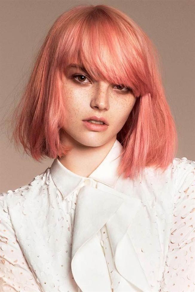 Kurzhaarfrisuren Haarfarben