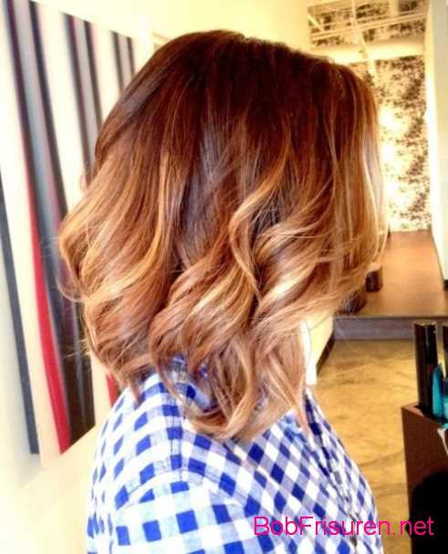 braun honig ombre hair farben fur kurze haare