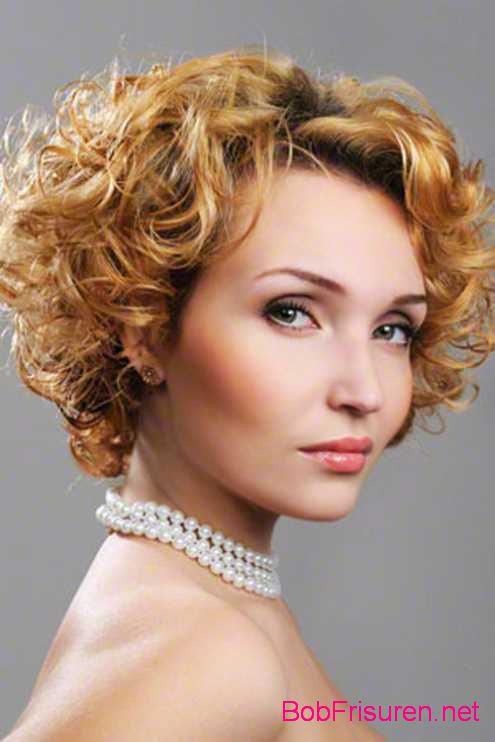 kurze frisuren fur lockiges haar