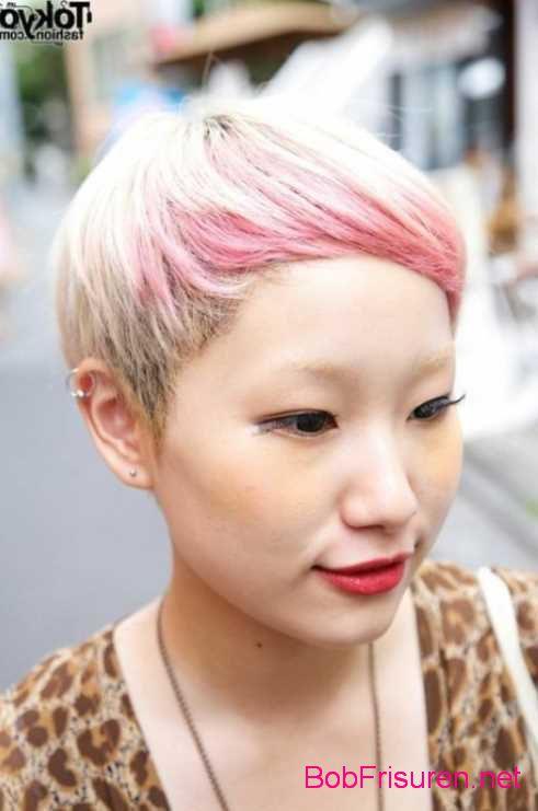 rosa ombre hair kurze haare
