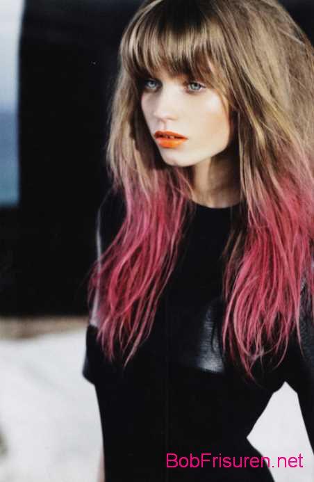 schone ombre haarfarben