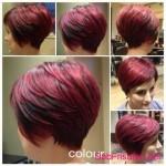 bob hairstyles red hair