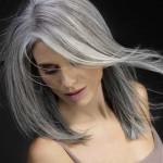moderne frisuren grey