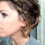updo bob hairstyles