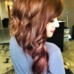gold rosa haarfarben trends 2015