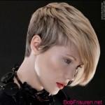 ombre asymmetrische frisuren fur kurze haare