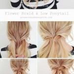 blonde flechtfrisuren lange haare
