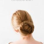 frisuren zum selber machen bun haare