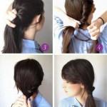 frisuren zum selber machen fur lange haare