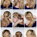 geflochtene frisuren fur kurze haare