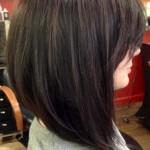 schwarz farben mittellange frisuren