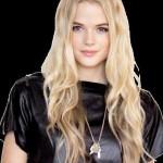 gabriella wilde blond damen frisuren
