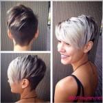 asymmetrische kurze haare