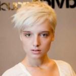 blondine kurze haare