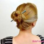 einfache hochsteckfrisuren fur kurze haare anleitung