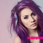 lila haarfarben